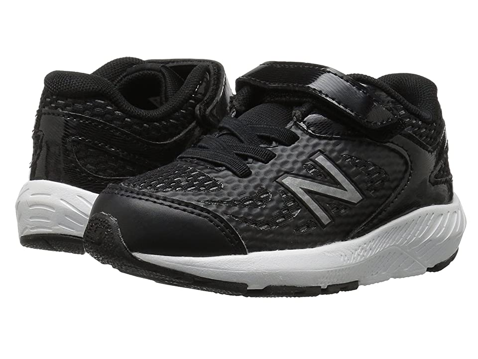 New Balance Kids KV519v1I (Infant/Toddler) (Black/White) Boys Shoes