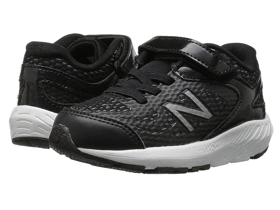 New Balance Kids KV519v1I (Infant/Toddler) (Black/White) Boys Shoes