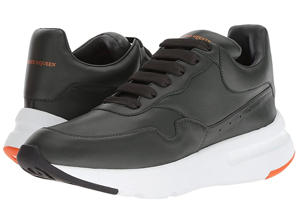 Alexander McQueen New Runner Sneaker (Peat) Men