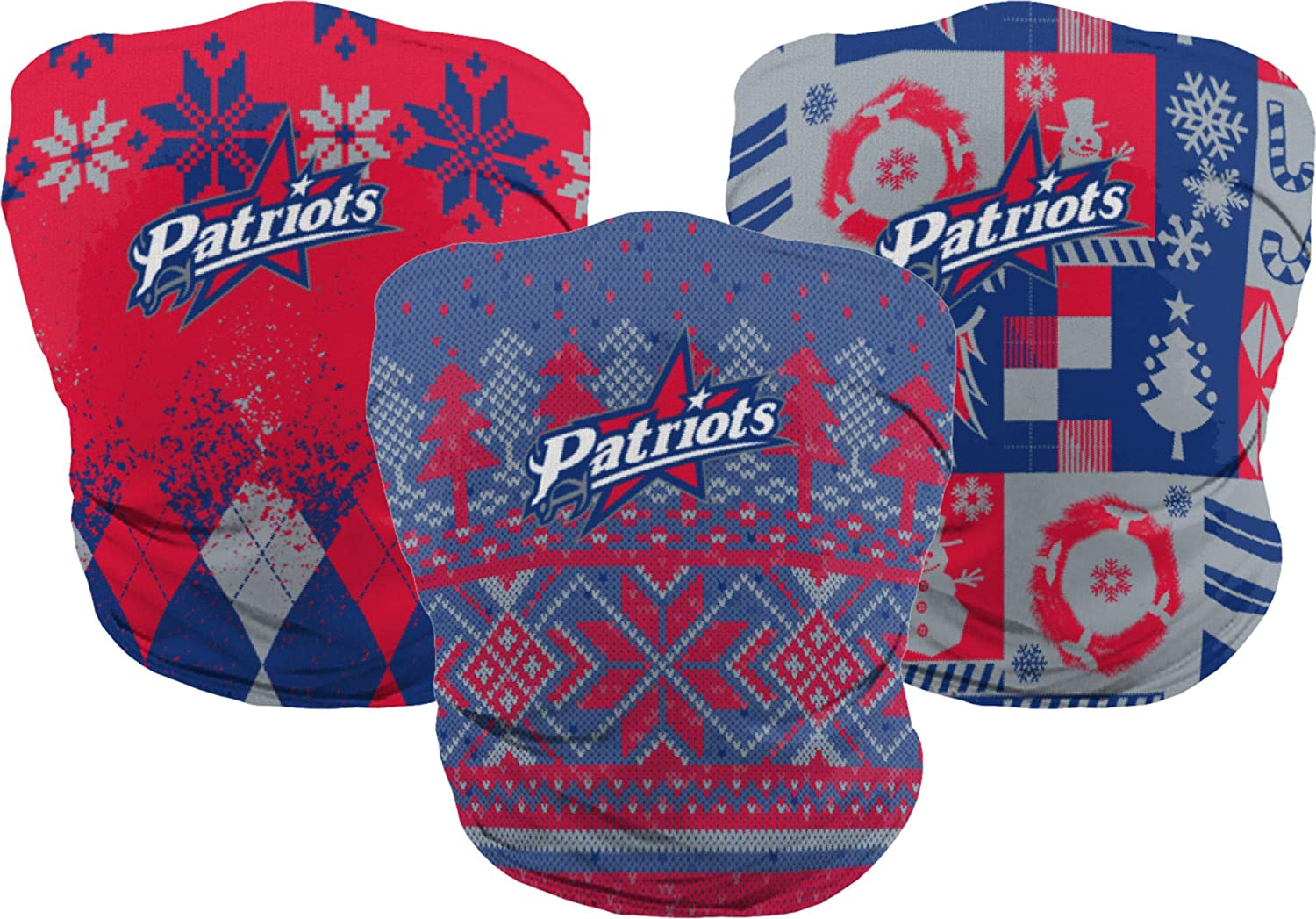 ProSphere Francis Marion University Holiday Neck Gaiter/Face Scarf (3-pack)