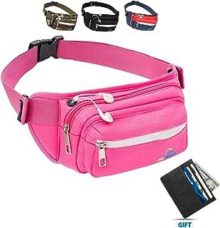 Premium Fanny Packs for Men & Women Water Resistant Waist Bag for Outdoor Activities, Traveling, Hiking, Biking, Running & More   Fannie Pack for Women