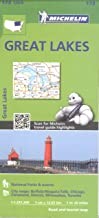 Michelin USA Great Lakes Map 173 (Michelin Zoom USA Maps)