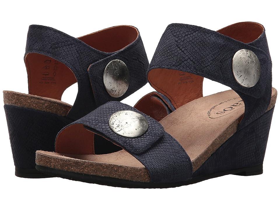 Taos Footwear Carousel 2 (Blue Embossed Suede) Women