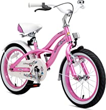 BIKESTAR Bicicleta Infantil para niños y niñas a Partir de 4 años   Bici 16 Pulgadas con Frenos   16