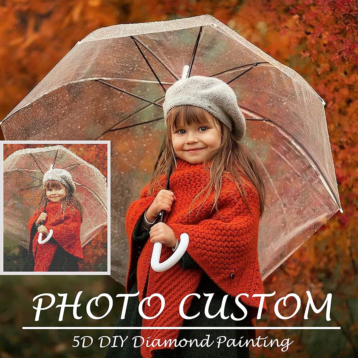 Custom Diamond Painting Kits 100% quality warranty Full Drill Genuine for Adults,Personalize
