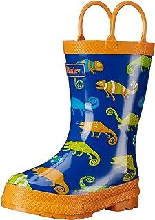 Hatley Boys' Crazy Chameleons Rain Boots