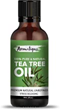 Aromatique Tea Tree Oil For Face 100% Pure,Best Therapeutic Grade Tea Tree Essential Oil for Skin Acne, Hair -30ml