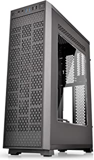 Thermaltake Core G3 Black Slim Small Form Factor ATX Perforated Metal Front and Top Panel Gaming Computer Case with Two 120mm Front Fan Pre-Installed CA-1G6-00S1WN-A0