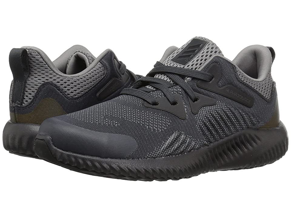 adidas Kids Alphabounce Beyond (Little Kid) (Grey/Carbon) Boys Shoes