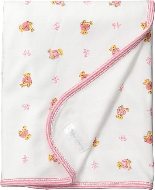 White Multi/Paisley Pink