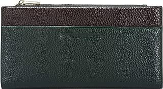 Smith & Canova Women's Long Zip Top Pocketed Purse Wallet