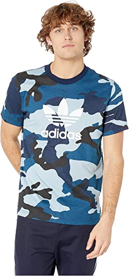 e52a7db69333 Multicolor/Collegiate Navy. 28. adidas Originals. Camo Tee