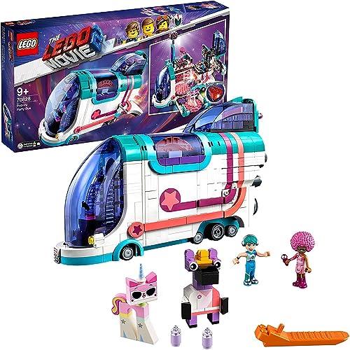 autorización oficial LEGO Película 2 - Fiestabús Pop-Up, set diverdeido para para para construir autobús de juguete converdeible en pista de baile (70828)  toma