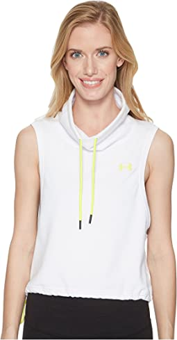 Featherweight Fleece Sleeveless Funnel Neck
