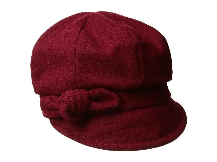 Hippie Hats,  70s Hats Betmar Adele Scarlet Caps $32.76 AT vintagedancer.com