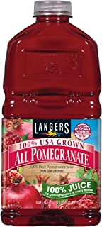 Langers 100% Juice, All Pomegranate, 64 Ounce (Pack of 8)