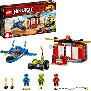 LEGO NINJAGO Storm Fighter Battle 71703 building set, easy build battle playset, Toy for Boys and Girls 4+ years old (165 ...