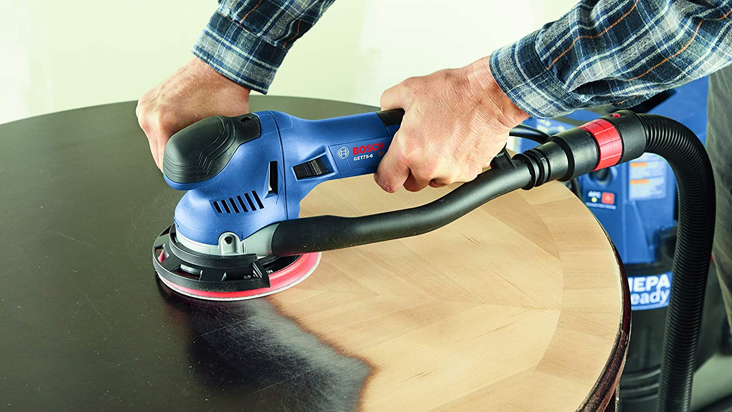 BOSCH GET75-6N Electric Sander/Polisher for Stripping Paint
