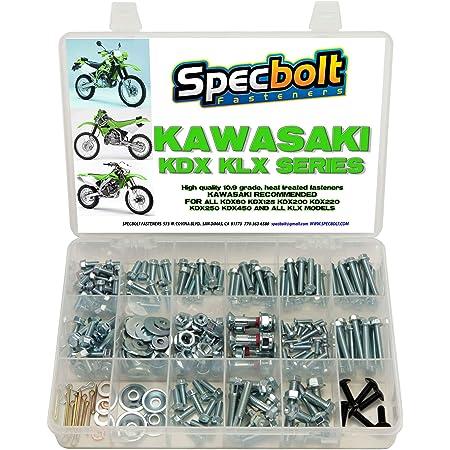 KLX 92150-1455 NOS! KX FLANGED 8 X 30 KDX KAWASAKI BOLT
