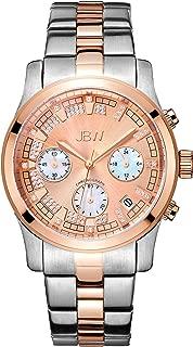 JBW Luxury Women's Alessandra Diamond Wrist Watch with Stainless Steel Bracelet