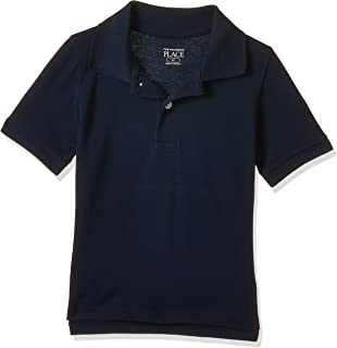 The Children's Place Boy's 3420 Short Sleeve Solid Polo Shirts (pack of 1)