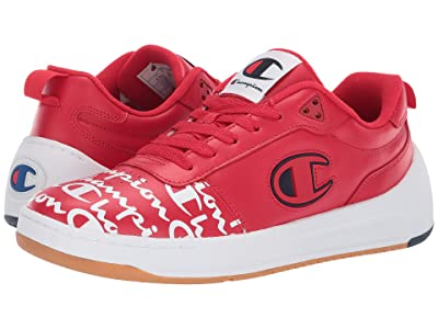 Champion Super C Court Low Print (Red) Men