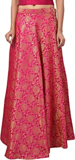 STUDIO Shringaar Women's Brocade Skirt Lehenga