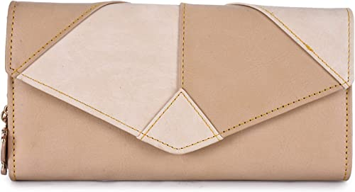 Butterflies Women Wallet Beige Peach BNS 2442BG