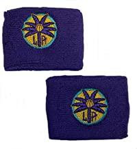 adidas WNBA Los Angeles Sparks Women's Wristbands - 1 Pair