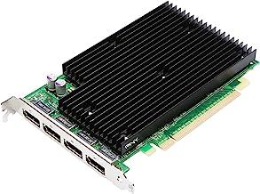 NVIDIA Quadro NVS 450 by PNY 512MB GDDR3 PCI Express Gen 2 x16 Quad DisplayPort Profesional Business Graphics Board, VCQ45...
