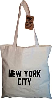 new york city canvas tote bags