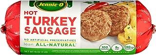 Jennie-O Hot All Natural Turkey Sausage, 16 Ounce
