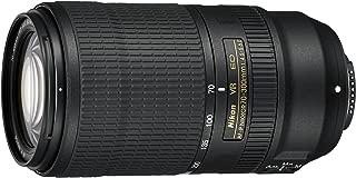 Nikon AF-P NIKKOR 70-300mm f/4.5-5.6E ED VR f/34-8 Fixed Zoom Digital SLR Camera Lens, Black