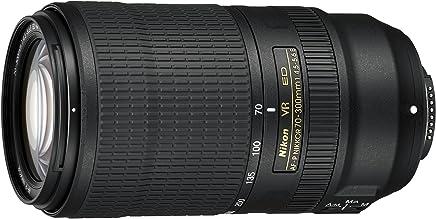 Nikon AF-P NIKKOR 70-300mm f/4.5-5.6E ED VR f/34-8 Fixed Zoom Digital SLR Lente de cámara, Color Negro