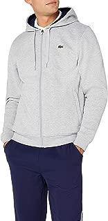 Lacoste Men's Tennis hooded zippered sweatshirt in fleece Sweatshirt