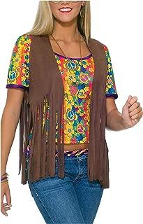 Women's 60's Hippie Vest Costume Accessory