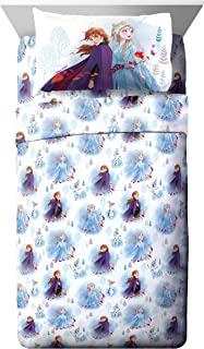 Jay Franco Disney Forest 3 Piece Twin Sheet Set, Frozen 2 Spirit