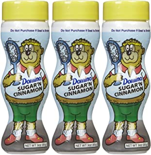 Domino Sugar & Cinnamon Shakers, 3 oz, 3 pk
