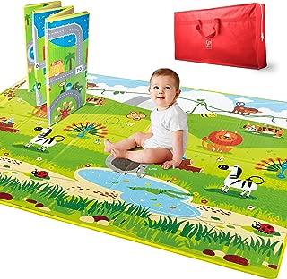 Hape Baby Play Mat - 5' x 5' Large Foldable Mat