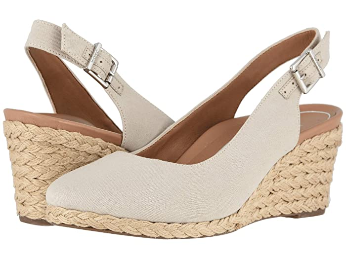 VIONIC  Coralina (Oat) Womens Wedge Shoes