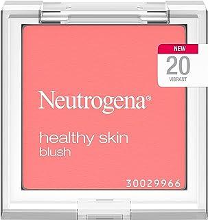 Neutrogena Healthy Skin Powder Blush Makeup Palette, Illuminating Pigmented Blush with Vitamin C and Botanical Conditioner...