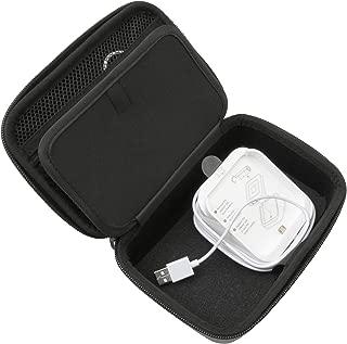 CASEMATIXポータブルカードリーダーケース、スクエア非接触ドックおよびチップリーダースキャナーとの互換性 - ドック、スクエアカードリーダー、チップリーダー、USBケーブルおよび小型アクセサリーに適合