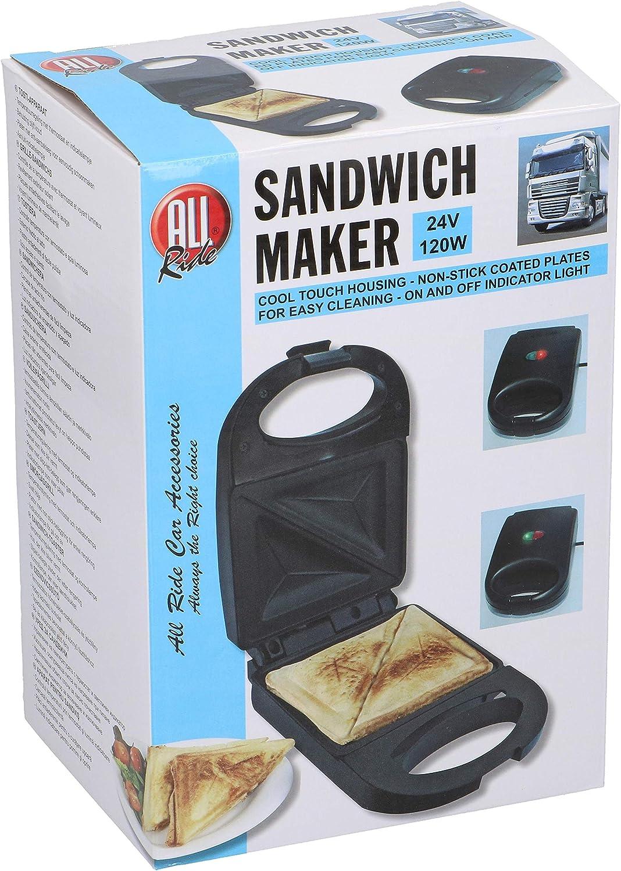 Sandwich Maker 24V / 120W color: negro