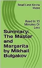 Best master and margarita summary Reviews