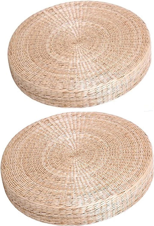2 Piece Japanese Tradtional Tatami free shipping Floor Max 67% OFF Mat Pillow Cushio