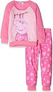 Panel Soft Cosy Fleece Long Sleeve Pyjamas