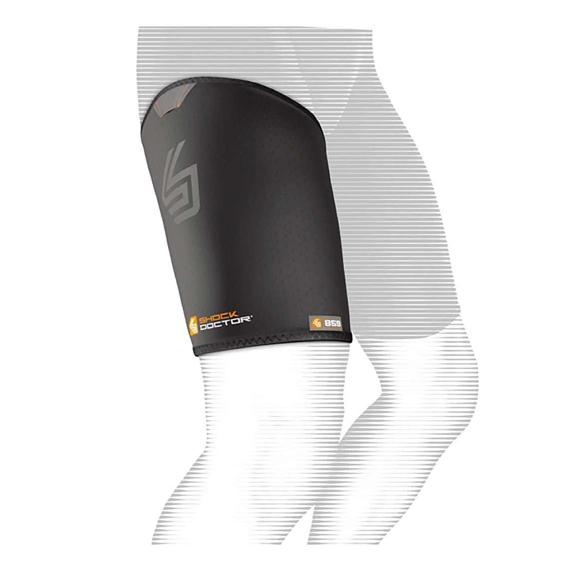 Shock Doctor Thigh-Groin Sleeve (Black)