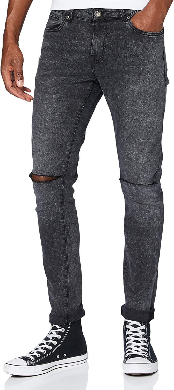 Urban Classics Men Jeans OFFicial High order Fit Slim