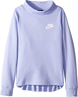 9bd8edd2 NSW Long Sleeve Fleece Crew (Little Kids/Big Kids). Like 14. Nike Kids