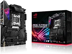 ASUS ROG Strix X299-E Gaming II ATX Gaming Motherboard (Intel X299) LGA 2066, Wi-Fi 6 (802.11ax), 2.5 GBS LAN, 8X DIMM Max...